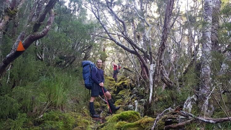 Climbing to 1000 Acre Plateau