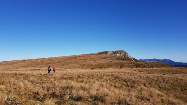 Heading across 100 Acre Plateau to Mt Misery