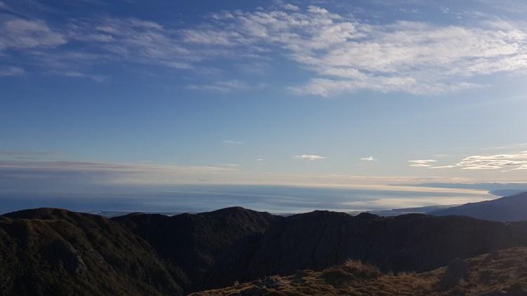 Looking North up the West Coast towards Karamea