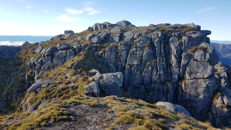 Exploring the ridges around Buckland Peaks