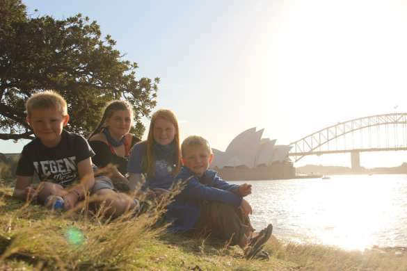 Sydney with kids
