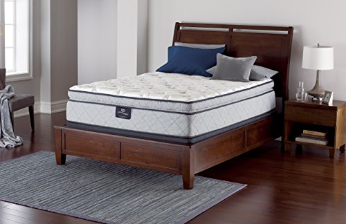 serta perfect sleeper edinburgh super pillow top mattress hyrbid gel innerspring queen azx 2bappliances