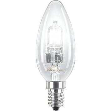 long life lamp company lot de 10 ampoules haloga ne bougie basse consommation a intensita c ra c glable e14 edison ses 28 w 40 w 8 ghjknbvvghgvc