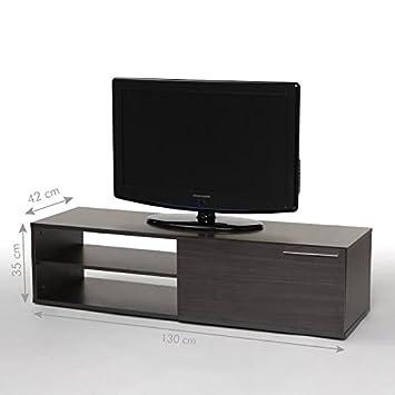 kikua meuble tv 130cm gris cendr fghjkdfghjfg