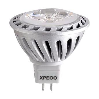 xpeooa ampoule led 6w mr16 gu5 3 equivalente a une haloga ne de 50 w spot light design avant gardiste lampe lumia re bulb 520 lm warm blanc chaud non dimmable philips chip dc ac 12v