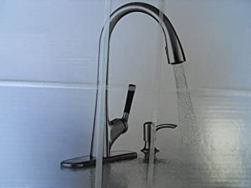 sale kohler malleco r562 sd vs one handle pull down kitchen faucet with soap lotion dispenser vibrant stainless finish good choice htjobju