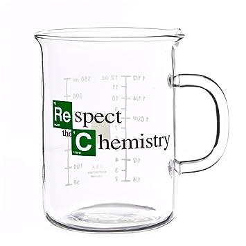 a respecte la chimie a tasse ba c cher inspira c e de breaking bad respect the chemistry beaker mug inspired by breaking bad 400 ml 5 zxcvfdfgh