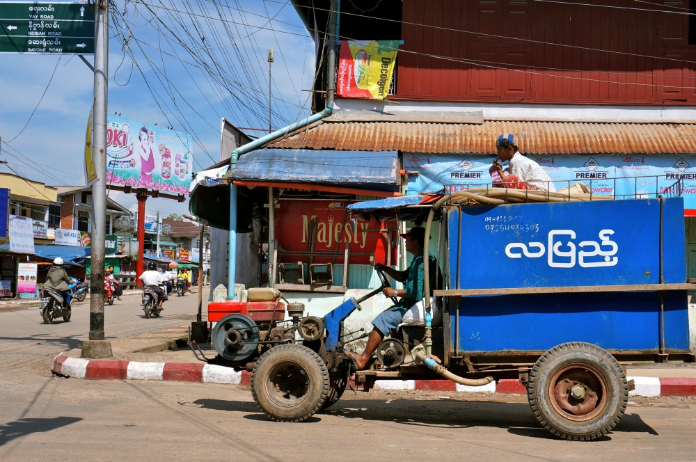 Vehicles in Dawei