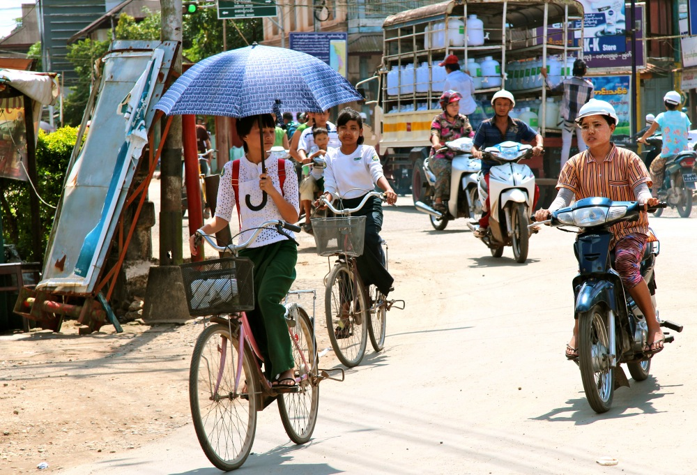 school kids Dawei