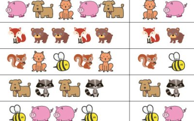 Free Printable Animal Pattern Worksheet For Kindergarten