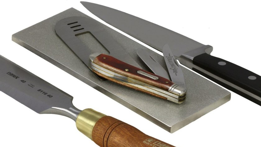 Sharpening stones should be one of the first tools beginner woodworkers buy.