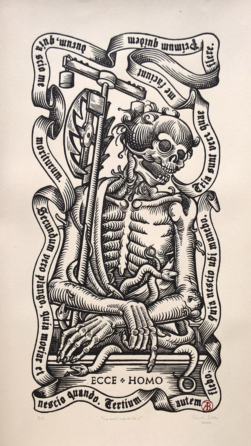 Davide Schileo le mort avec le foliot