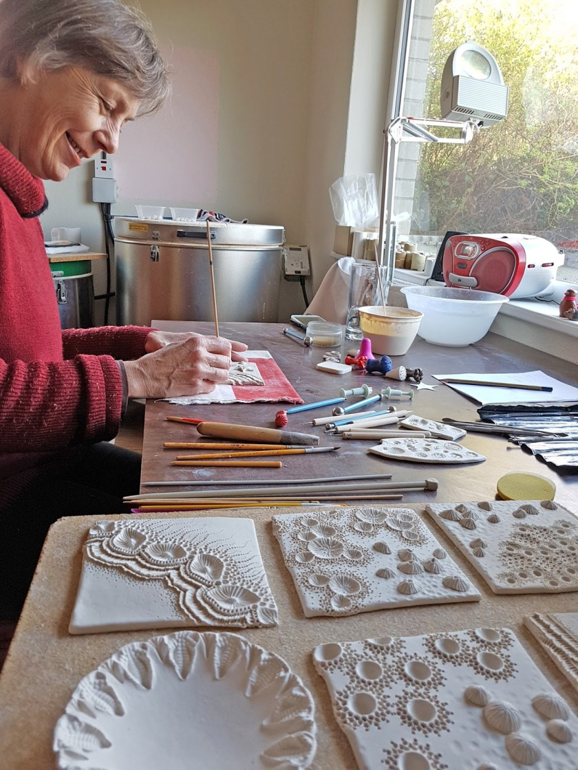 Mairi Stone at work