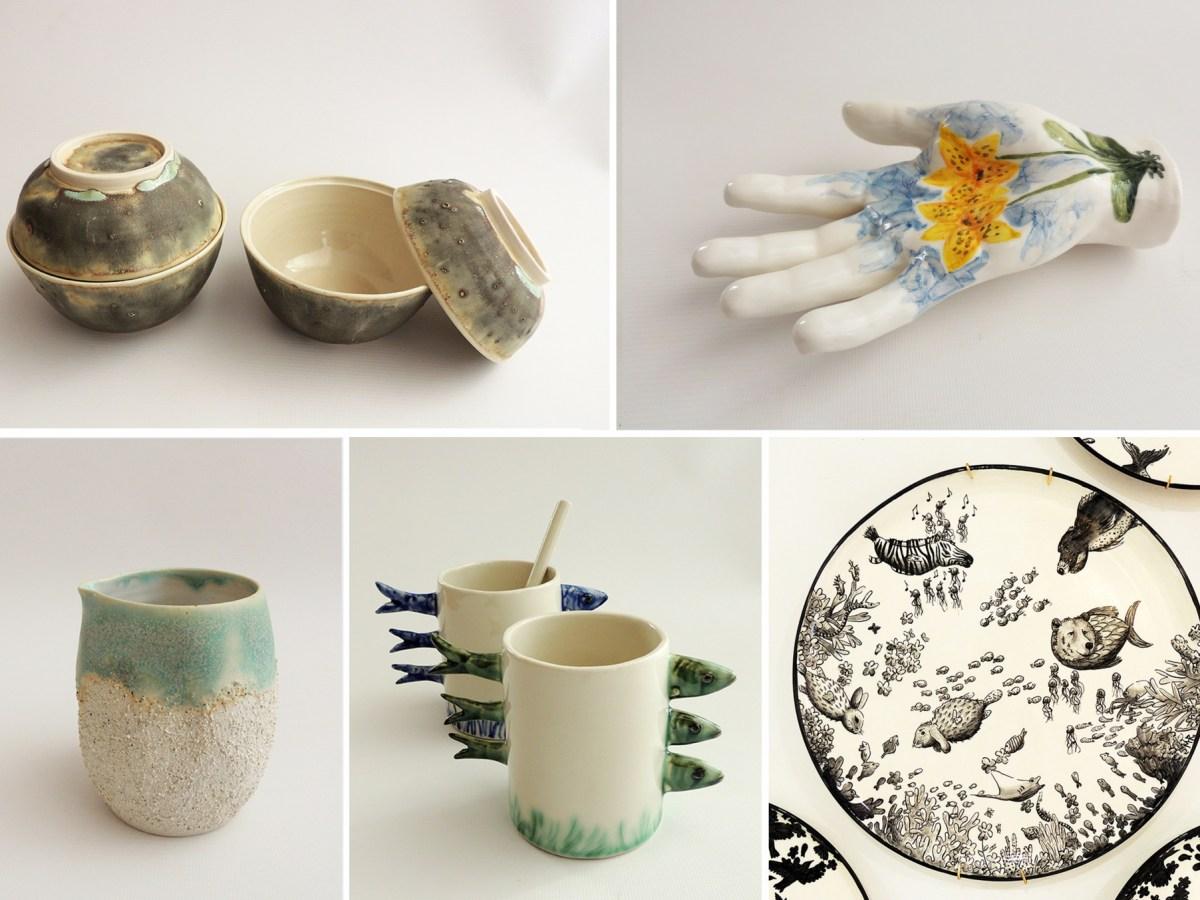 Maria Monasterio ceramics featured