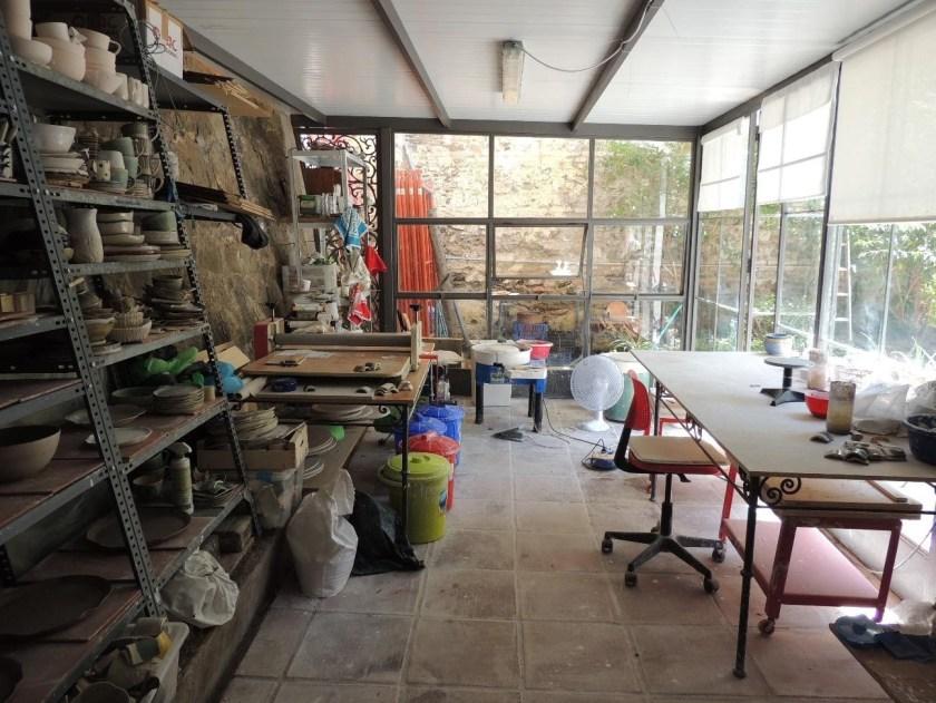 Maria Monasterio ceramic workshop 1