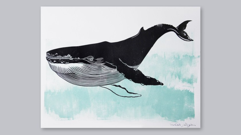 Pablo Salvaje linocut artist