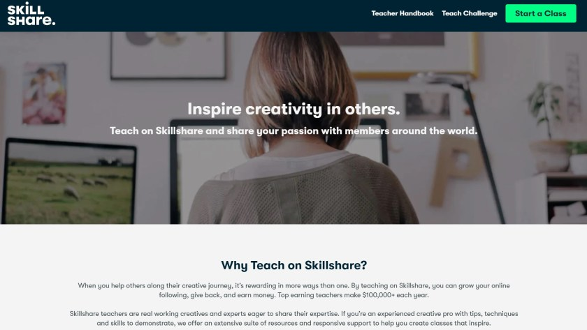 Skillshare vs Domestika for teachers