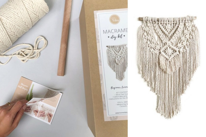 Homevibesmacrame wall hanging kit