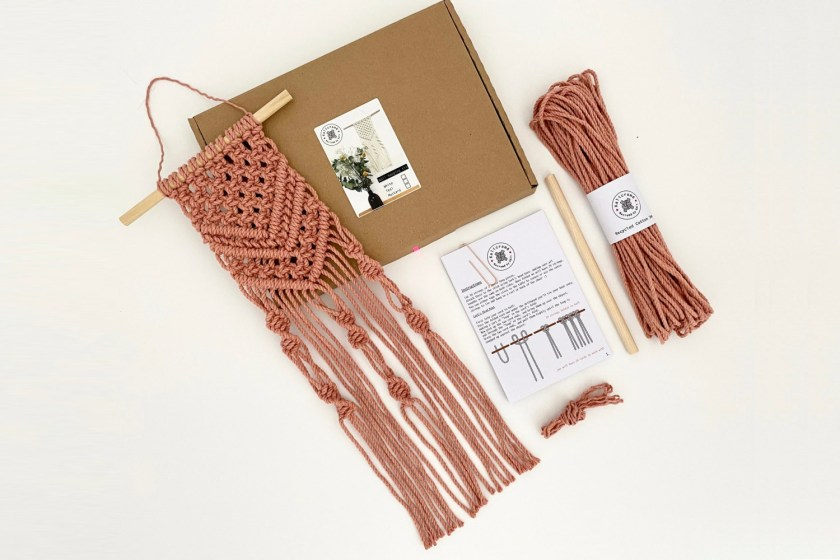 Kalicrame macrame wall hanging kit