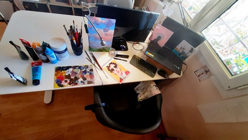 Mister Kaikus artist studio