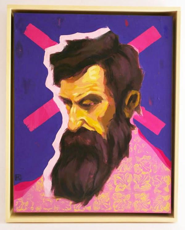 Mister Kaikus wondering painting