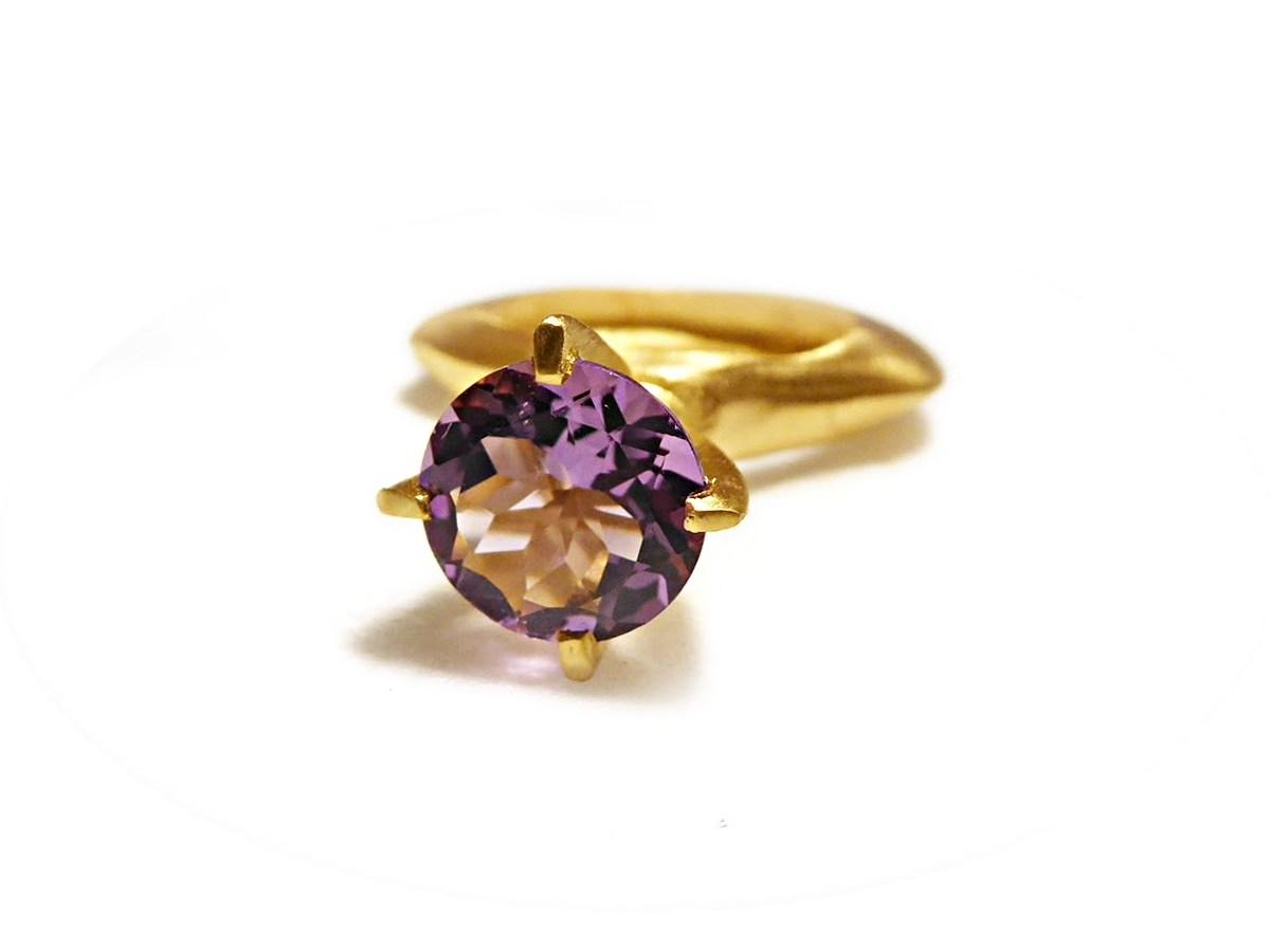 Catherine Marche jewellery passionata amethyst ring