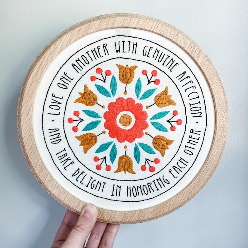 Sarah K Patro make for good embroidery