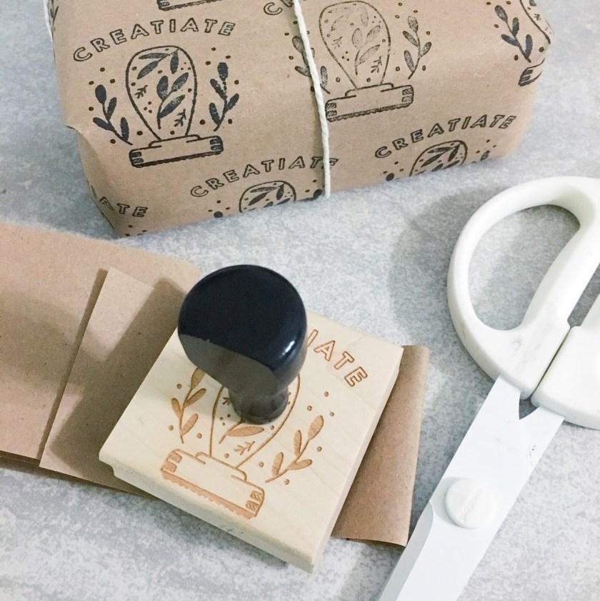 Sarah K Patro modern maker stamps creatiate