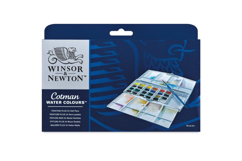 Winsor Newton cotman watercolor set