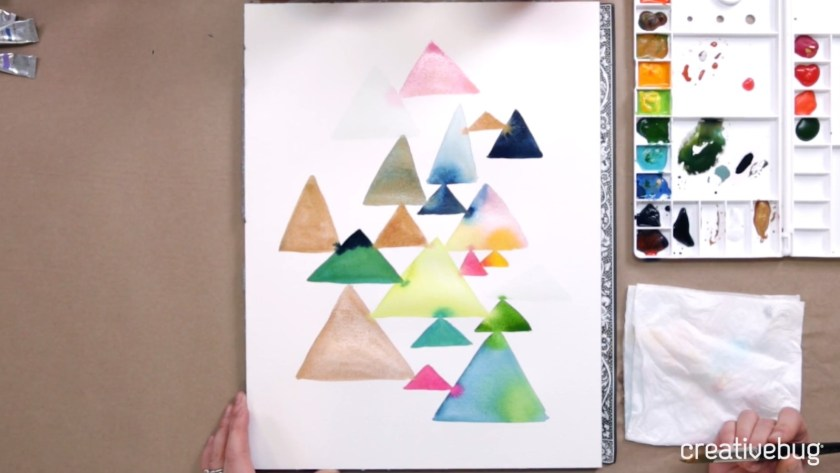 Beginning Watercolor Creativebug class