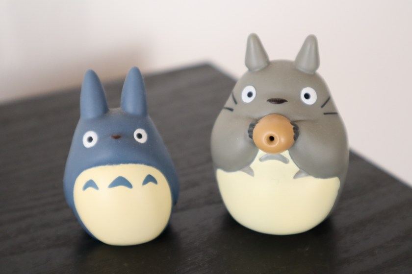 Flor Kaneshiro Totoro figures