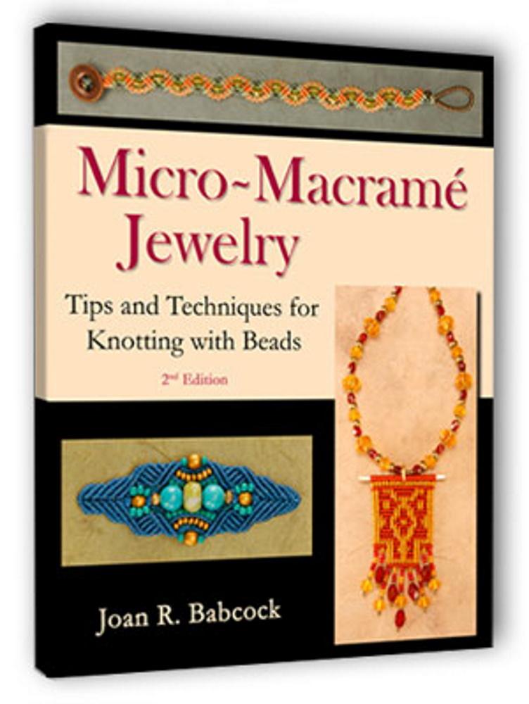 micro macrame jewelry book