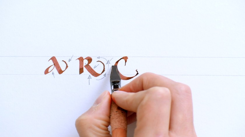 Uncial Calligraphy for Beginners Domestika