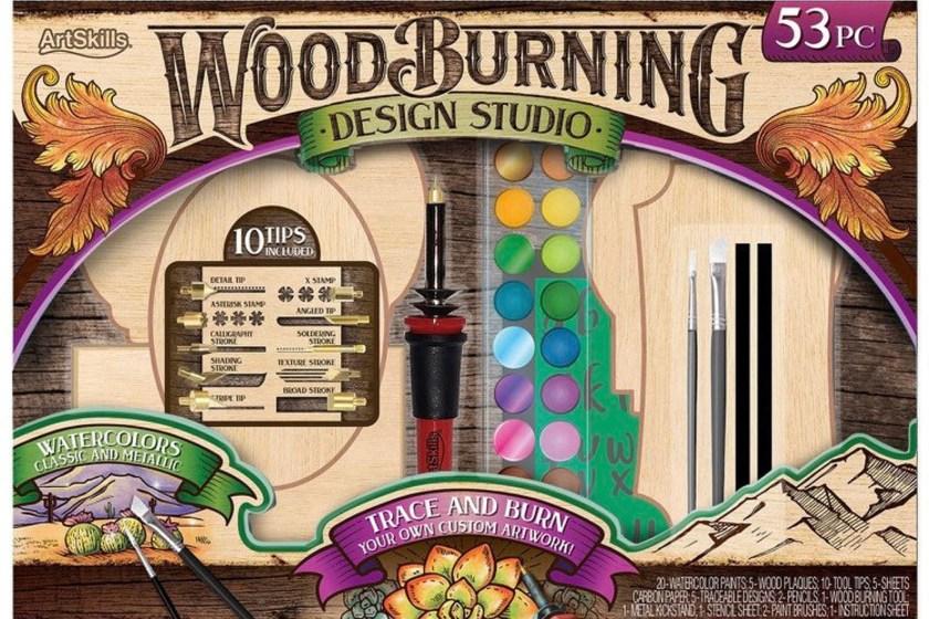 ArtSkills wood burning set