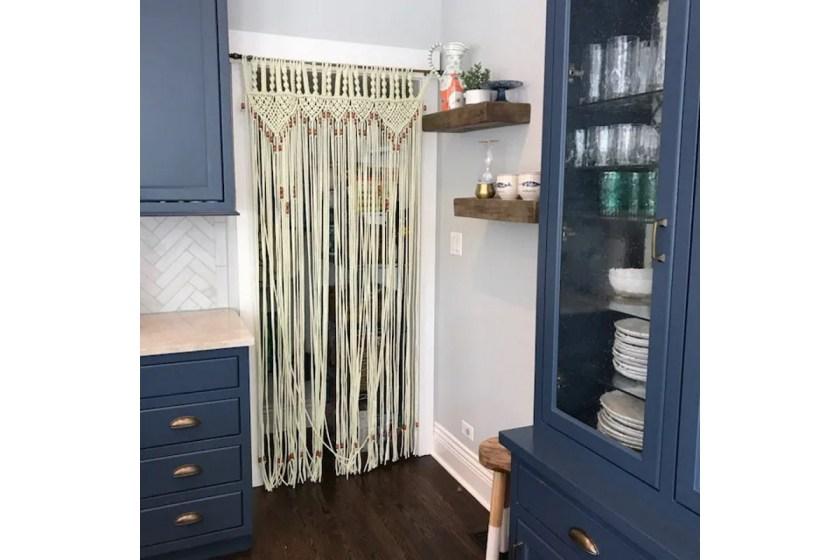 Macrame arch door curtain pattern Craftflaire