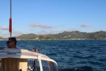 Leaving Jolly Harbor