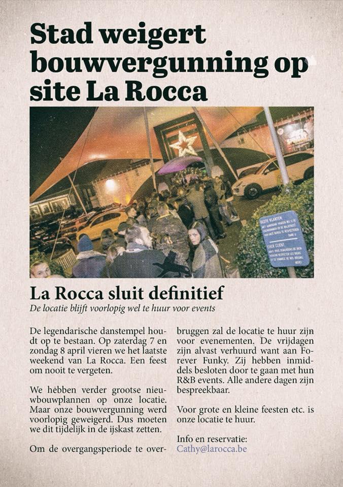 La Rocca bouwvergunning