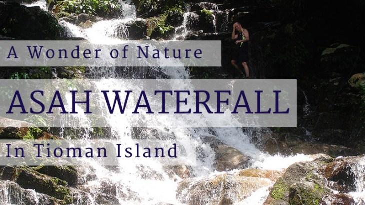Asah Waterfall Tioman Island Malaysia