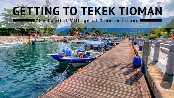 Tekek Village Tioman Island Malaysia