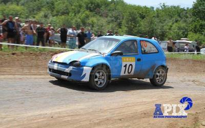 TIP LTD is a sponsor of a rally car with a driver Plamen Tsvetanov