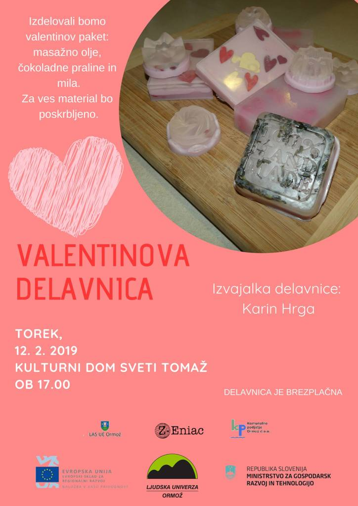 VALENTINOVA DELAVNICA