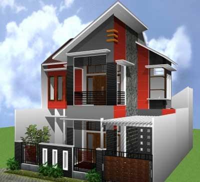 Desain Cat Rumah Minimalis Modern Tipe Rumah Minimalis