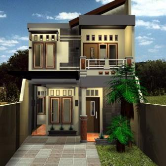 Desain Rumah Minimalis Modern Type 36 2 Lantai Tipe Rumah Minimalis