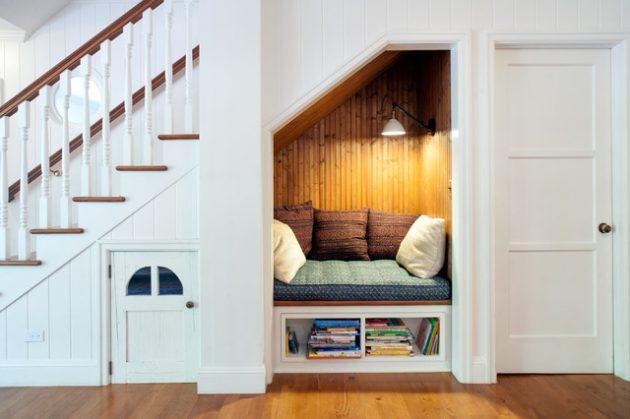 desain tangga interior rumah