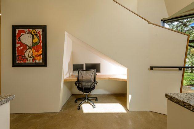 ruang bawah tangga fungsional