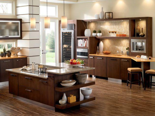 Warna Lantai untuk Dapur Minimalis