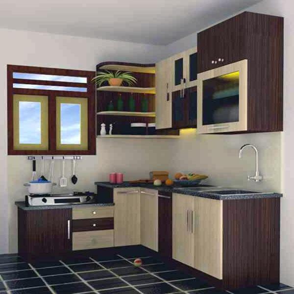 Desain Dapur Sederhana Yang Terbaik