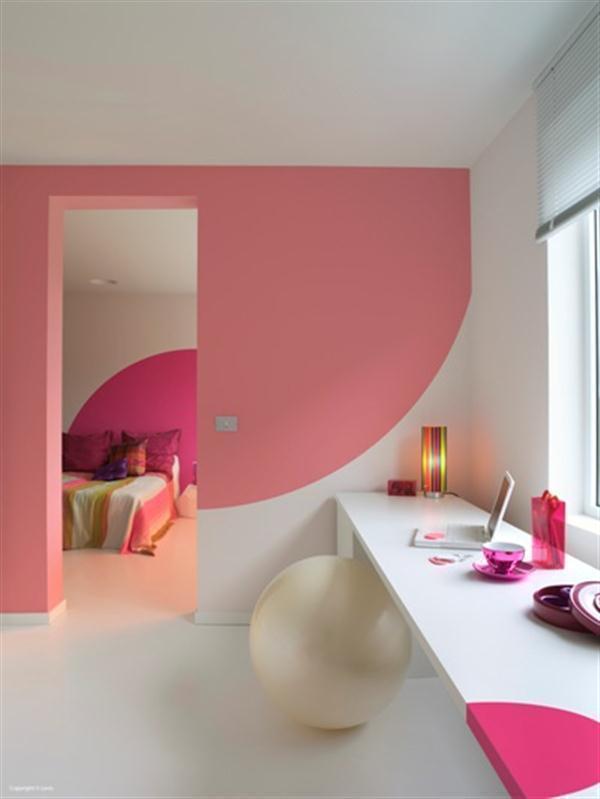 Ide Warna Cat Rumah Pink