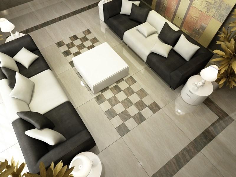 Motif Keramik Lantai Ruang Tamu Minimalis