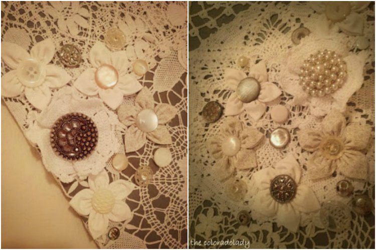 How To Turn Old Doilies Into Feminine Vintage Wall Art